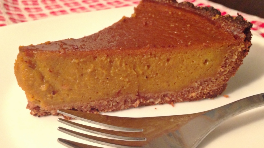 Healthy Pumpkin Pie! | LOVE & LIGHT with Dena